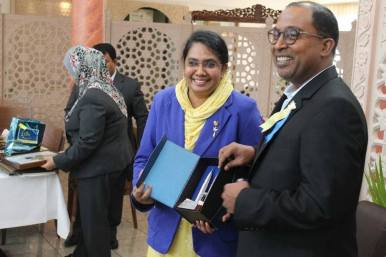 Received appreciation from Dato' Seri DiRaja Dr. Zambry bin Abdul Kadir