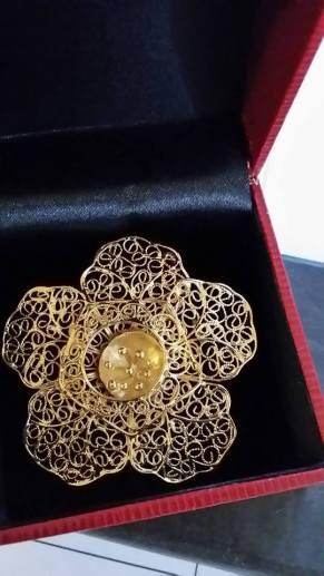 The golden hibiscus award