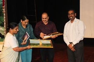 Appreciation after guest lecture at SVYSA